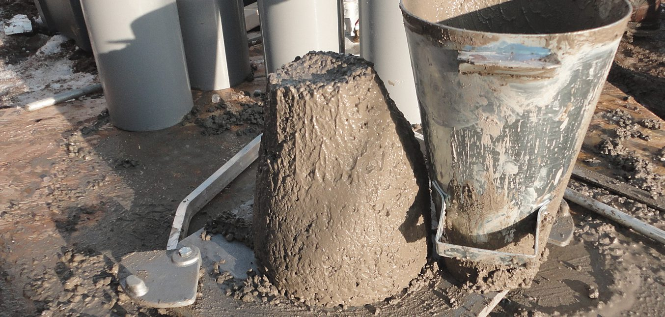 Theoretical Study of Concrete Mixtures